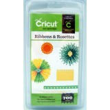 Cricut Shape Cartridge Ribbons and Rosettes Item 20-01229
